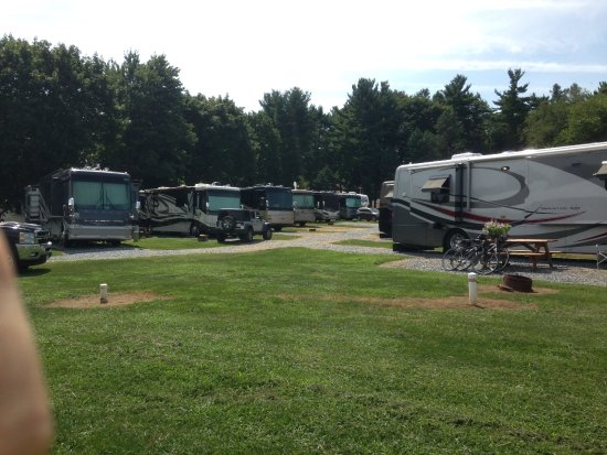 Roamers' Retreat Campground: Pull thru stoned 50 amp sites ( 54 to 60 and 67 to 61 )