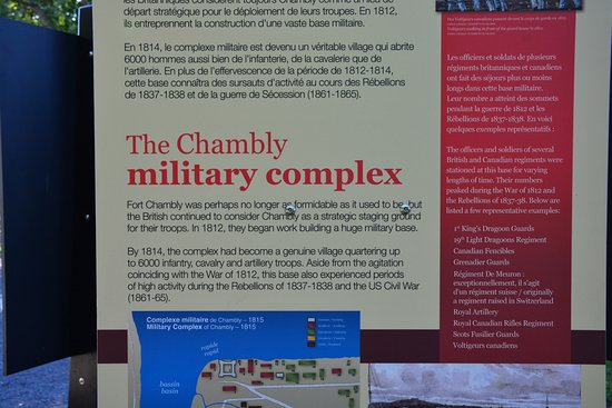 Fort Chambly National Historic Site : ...