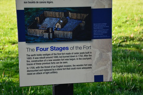 Fort Chambly National Historic Site : ....