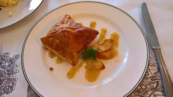 Bayona: smoked duck puff pastry