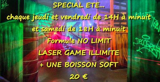 Venez découvrir votre Laser Game aux portes de Périgueux sur la commune de Boulazac.