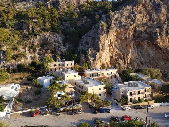 Kira Panagia, Greece: A view from the up