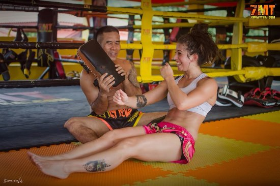 Chak Phong, Tailândia: Muay Thai for girls