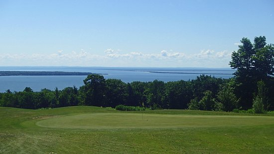Apostle Highlands Golf Course: View from course