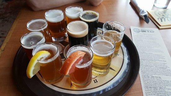 Pendleton, OR: Taster's tray