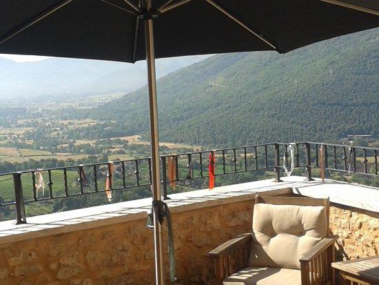 Prossedi, Ιταλία: Terrazzo della sala comune