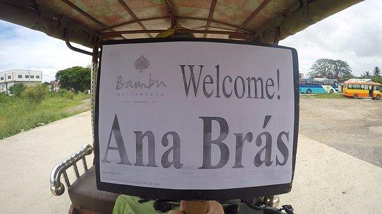 Bambu Battambang Hotel: Free pick up