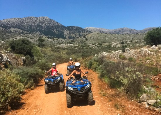 Georgioupolis, Grecia: Quad Safari in Wihite Mountains