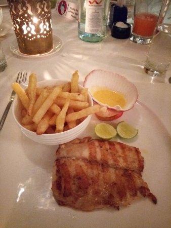 Tamarind Restaurant: Tasty grilled Tilapia