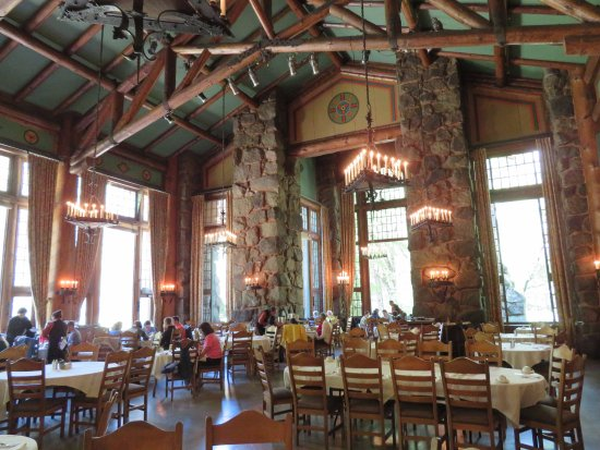 The Majestic Yosemite Dining Room: Majestic Hotel Dining Room