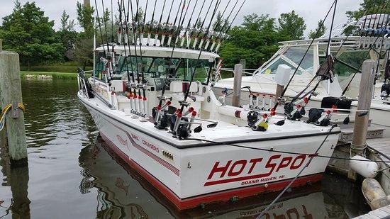 Grand Haven, MI: Hot Spot Charters