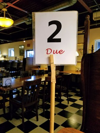 number due picture of palio pizzeria hyannis tripadvisor