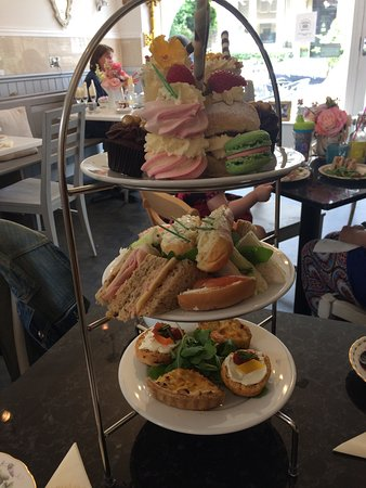 The best afternoon tea EVER !!