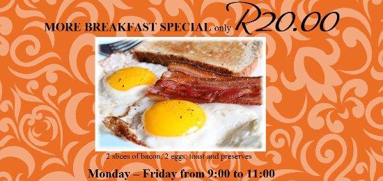Centurion, Sudafrica: Breakfast special