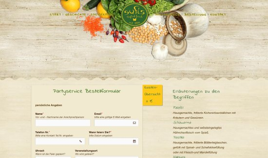 Unsere Homepage - Rubrik: Catering - Picture of Sufis Restaurant and ...