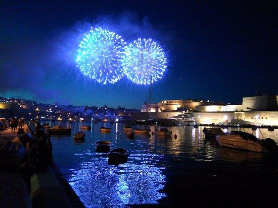 Senglea, Malta: View