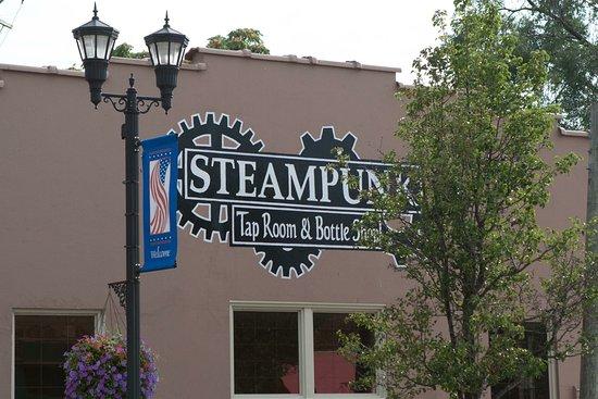Steampunk Tap Room