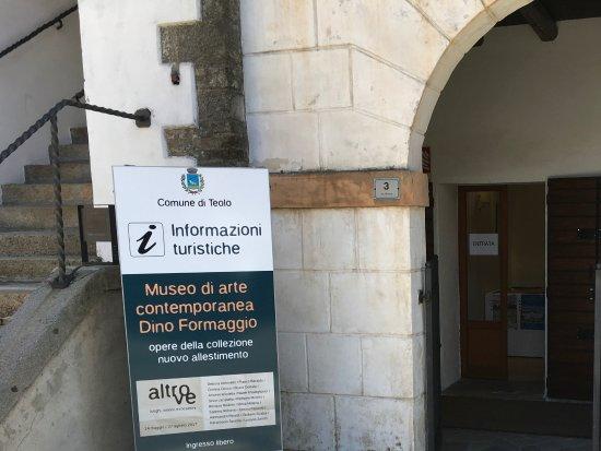Teolo, Ιταλία: Ingresso del punto Info.