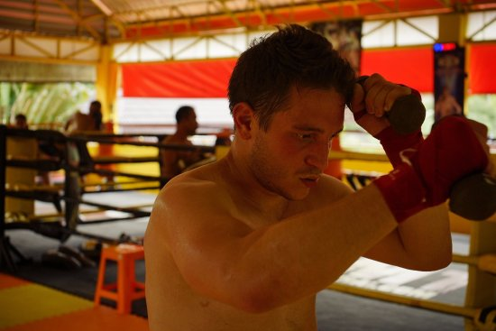 Chak Phong, Thailand: Novice level Muay thai session