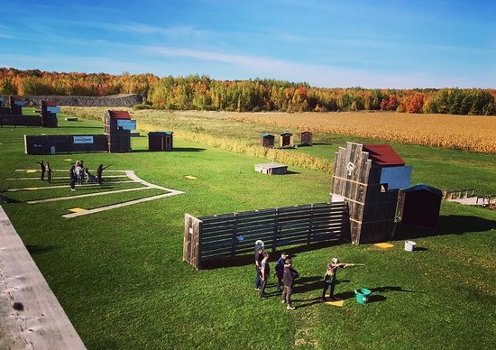 Les Cedres, Canada: Monteal Skeet Club outdoor clay shooting range