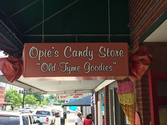 Mount Airy, Carolina del Nord: Downtown shop