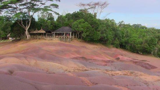 Flic En Flac: terre colorate di Chamarel