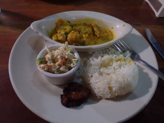 Omar's: Coconut Curry Lion Fish