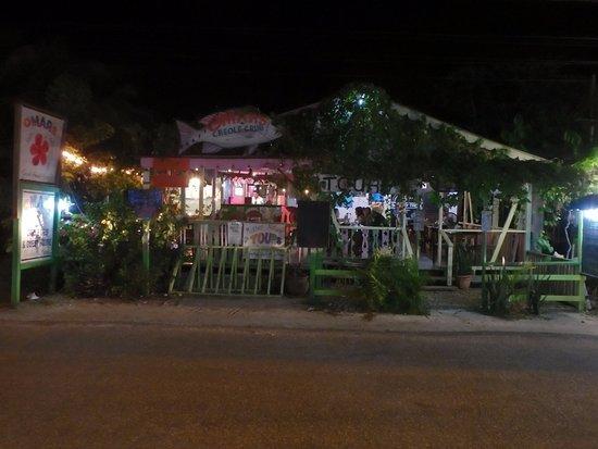 Outside of Omar's
