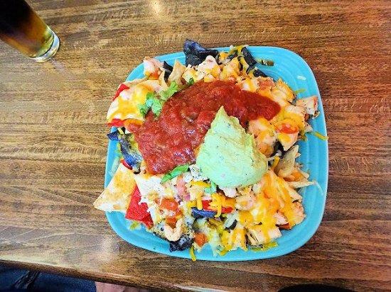 Landrum, Carolina Selatan: awesome nachos