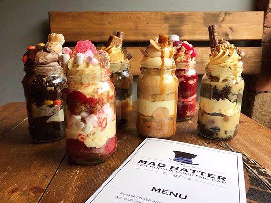 Cake Jars Picture Of Mad Hatter S Matlock Tripadvisor