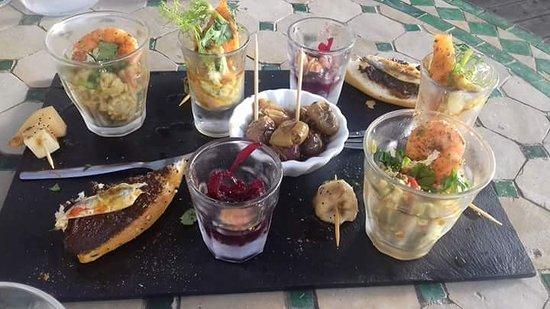 Mazamet, Francja: Tapas pour deux. .. Avec une seconde assiette 😆