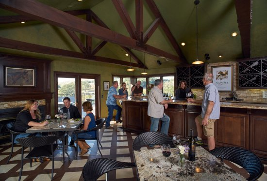 Templeton, CA: Our hilltop vineyard view Tasting Room