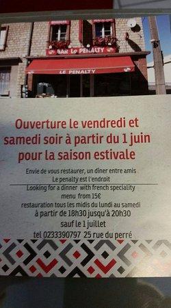 Vimoutiers, Frankrig: Nouveauté eté 2017