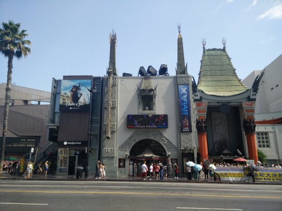 Hollywood boulevard is in los angeles there are