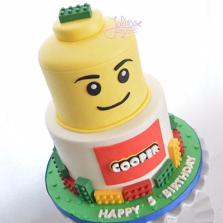 Custom Lego Cake - Picture of Jolirose Bake Shop, West Nyack