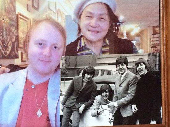 Fairfield, IA: 2nd Street Cafe Owner With Paul McCartney's Son