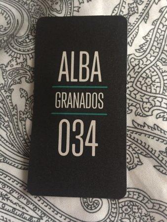 Alba Granados Restaurant Barcelona Review