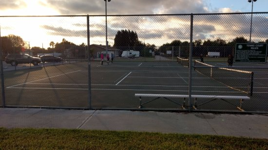 Harbor Heights Park: Tennis - By Chato Stewart
