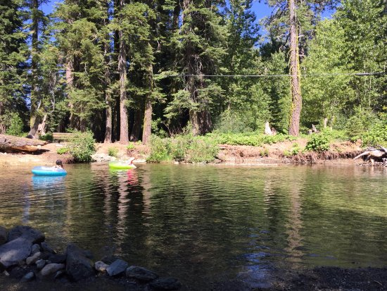 Graeagle, CA: swimming hole on property
