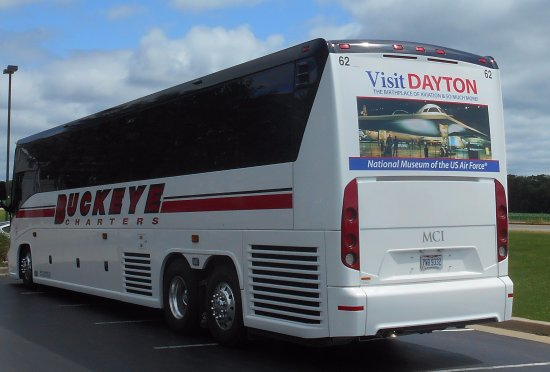 Clinton, IA: Dayton Dragons bus