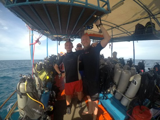 DJL Diving: Lovely day at the boat, after a perfect deep dive