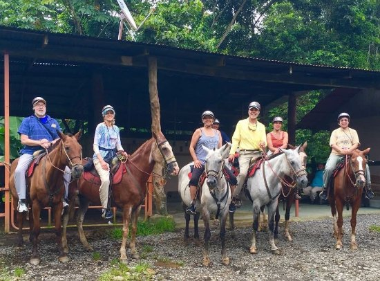 Horseback riding with Dive West Dallas and Bill Beard's Costa Rica