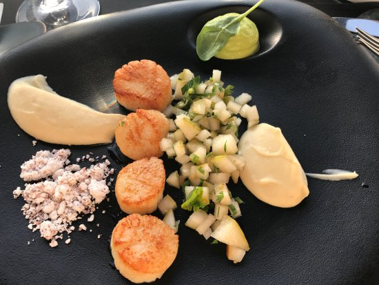 incredible scallop appetizer (266561003)