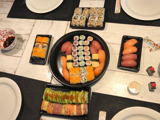 sushi rotterdam aanbieding