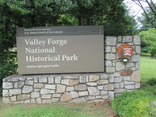 Valley Forge National Historical Park: Entrance to visitor's center.