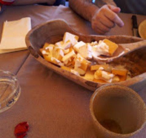 Vaglia, Italy: Polenta e fonduta