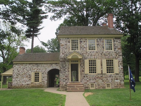 Valley Forge National Historical Park: George Washington's Headquarters.