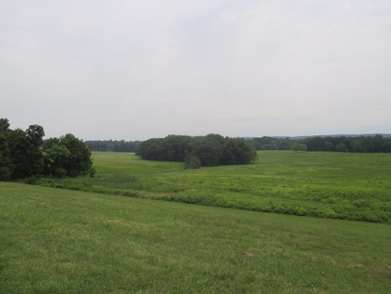 Valley Forge National Historical Park: View of one of the open fields at Valley Forge.