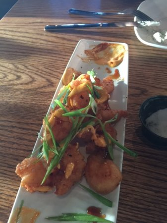 Langford, Canadá: I had already consumed a fair number of these awesome tempura shrimp