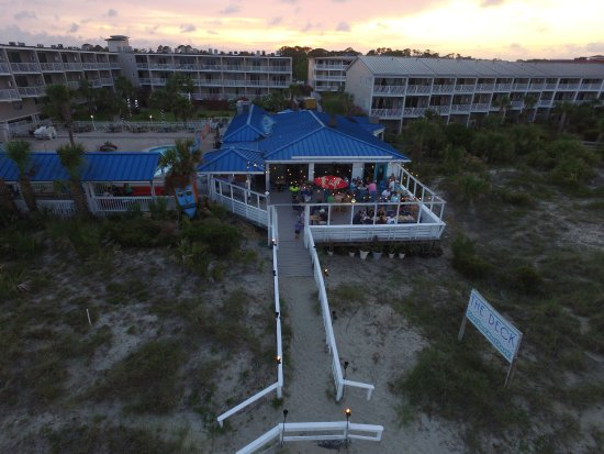 The Deck Beachbar And Kitchen Tybee Island Restaurantbeoordelingen Tripadvisor